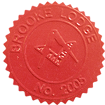 Seal of Brooke Lodge No 2005